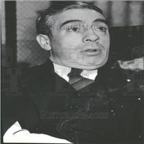 1937 Press Photo Francis J. Gorman President Textile