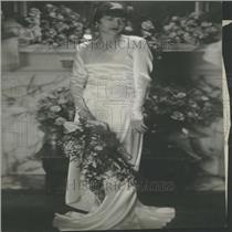 1929 Press Photo Debutante Freyer Hoover White House