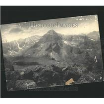 1935 Press Photo The Mount of the Holy Cross