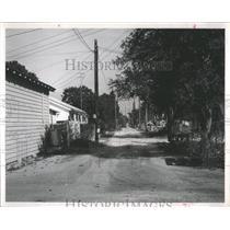 1963 Press Photo street needs improvement St. Peterburg