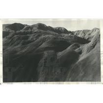 1931 Press Photo Vicinity of Cabeza Blanca in Patagonia