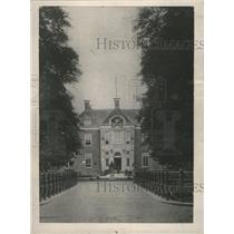 1918 Press Photo Middachten Castle Amerongen Holland