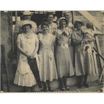 1934 Press Photo Joseph Freiling John Bohana William
