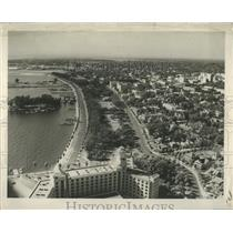 1955 Press Photo St Petersburg Waterfront - RRY42749