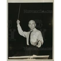 """1959 Press Photo Actor Yul Brynner in """"Once More with Feeling"""" - lfx03420"""