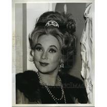 """1965 Press Photo Actress Ann Sothern for """"the Lucy Show"""" CBS - lfx04298"""