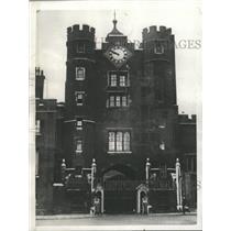 1929 Press Photo St. James Palace London