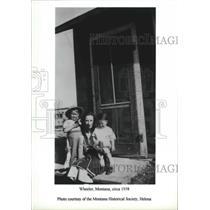 1938 Press Photo Wheeler, Montana, circa 1938 - spx14810