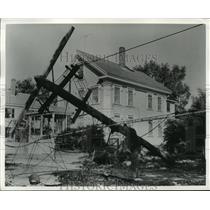 1963 Press Photo New Hampshire/Massachusetts Hurricane Damage 1954 - ftx00317