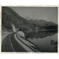 1963 Press Photo Griffin Lake New Revelstoke, British Columbia  - ftx00245