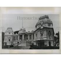 1935 Press Photo Guanabura Palace in Rio de Janeiro, Brazil - ftx00249