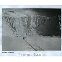 1968 Press Photo Mount Herschel, Antarctica Hillary Expedition - ftx00320