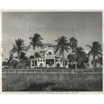 1948 Press Photo Boca Grande Clubhouse Florida