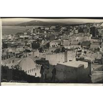 1924 Press Photo Tangier, the North African Seaport now an international state