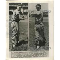 1954 Press Photo Joe Cunningham, rookie St.Louis Cardinals First Baseman