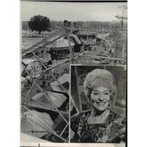 "1964 Press Photo Actress/Dancer Sally Rand for ""Carny"" - ftx00885"