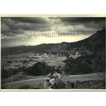 1987 Press Photo Grazalema, Spain Villages in the Ronda Mountains - ftx00372