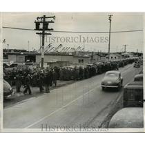 1946 Press Photo Navy Redistribution Center, South Tacoma, Washington