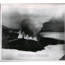 1961 Press Photo Askja Volcano, Iceland Eruption - ftx00577