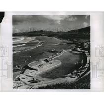 1959 Press Photo St Croix, Virgin Islands Sea-Fed Swimming Pool - ftx00589