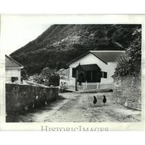 1982 Press Photo St Maarten Island, Caribbean, Netherlands - ftx00590