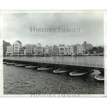 Press Photo Queen Emma Pontoon Bridge, Willemstad, Netherlands - ftx00591