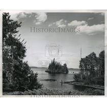 1964 Press Photo Reed Lake, Flin Flon, Manitoba - ftx00624