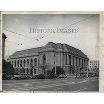 1945 Press Photo Veterans' Memorial Auditorium, San Francisco, California