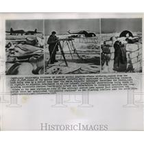 1954 Press Photo Soviet North Pole Research Expedition - ftx00783
