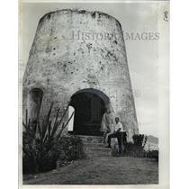 1965 Press Photo St Croix, Virgin Islands Sugar Mill - ftx00802