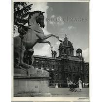 Press Photo Vienna National Museum of Fine Arts, Austria Restored after WWII