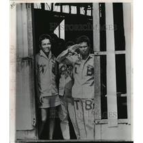 1968 Press Photo Viet-Cong Prisoner of War at Bien Hoa Camp, South Vietnam
