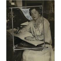 1917 Press Photo Miss Marie Grill - ney25180