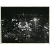 1942 Press Photo Oregon Shipbuilding Corporation, Portland - ftx00517