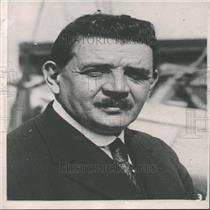 1936 Press Photo Edouard Herriot French Socialist