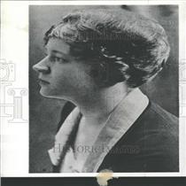 1930 Press Photo Mrs Jessie Hermon Stuntmen Widow James