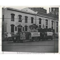 1940 Press Photo Boxcar Roundup American Legion
