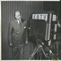 1953 Press Photo Denver Personality Joe Flood - RRY22483