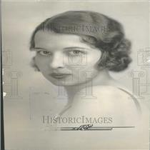 1935 Press Photo Maurice Fisher Society Matron