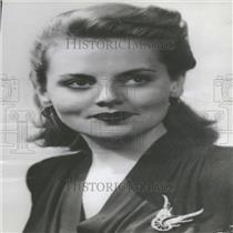 1943 Press Photo Jeanne Cagney