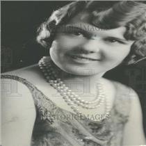 1928 Press Photo Miss Hazel Hayes