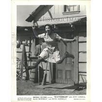 1940 Press Photo Judy Canova Scatterbrain
