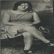 1931 Press Photo Socialite Carrington Portrait