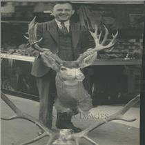 1934 Press Photo Colorado Deer and Elk Hunting