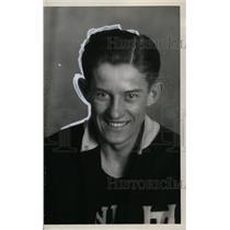1929 Press Photo Frank Nemeth, Union Trusts Basketball Player - neo00333