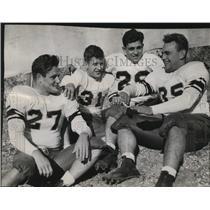 1945 Press Photo Marquette University Pilot Football Players - mja47523