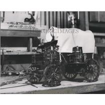 1959 Press Photo Chuck wagons are still common at modern western rodeos