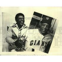 "1976 Press Photo Willie Mays on ""The Way it Was""  - mja52465"