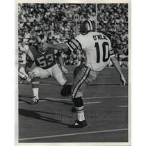 Press Photo New Orleans Saints- Saints kicker O'Neal. - noa05598