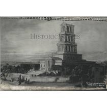 1923 Press Photo Washington Masonic National Monument - RRY50161